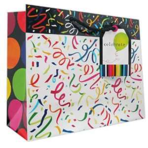 120 Pcs Premium Paper Gift Bags Bulk 10 x 12.5 x 5