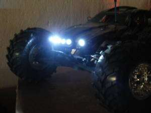 RC LED LIGHT KIT 4 WHITE 4 RED,TRAXXAS,CEN,HPI,REVO