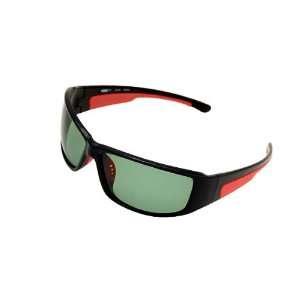 Como Polarized Sports Woman Man Sunglasses Black Frame