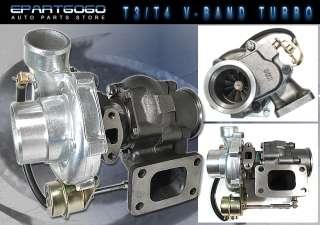 top t3 t4 v band turbocharger turbine turbocharger oil cooled