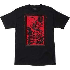 Independent T Shirt Till Death [X Large] Black Sports
