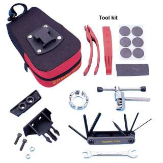 Bicycle Bike Repair Tool Kit With Saddle Bag