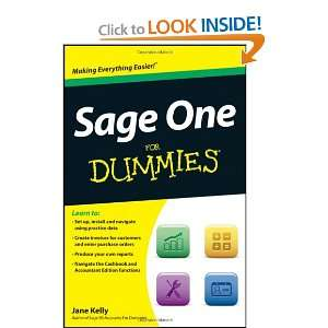 Sage One For Dummies (9781119952367) Jane Kelly Books