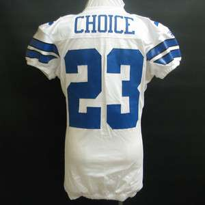 Choice Dallas Cowboys Game Worn Jersey 11/14/10 @ New York Giants