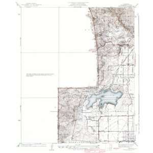 USGS TOPO MAP CHATSWORTH QUAD CALIFORNIA (CA) 1940