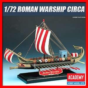 72 Scale Roman Warship Circa B.C. 50 /Academy/Model/Ki/Ship