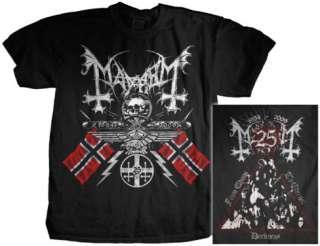 Mayhem   25 Years/Coat Of Arms Shirts at AllPosters