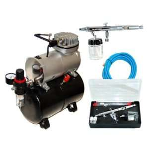 Depot KIT S622 T .3.5.8mm Pro Airbrush 22cc Btl W/ ABD TC 20T Home