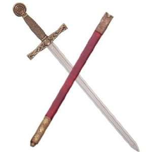 Sword Letter Openers   Excalibur Sword with Scabbard