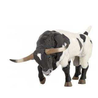 Safari Farm Black Angus Cow Toys & Games