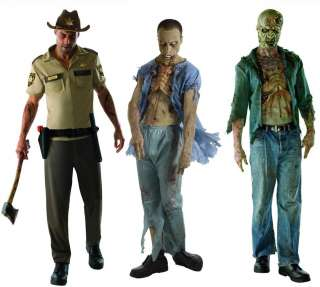 The Walking Dead   Decomposed Zombie,Dead Patient,Rick Grimes Set