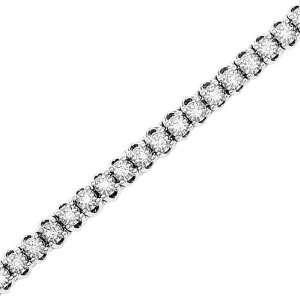 14K White Gold 2 ct. Diamond Tennis Bracelet Katarina