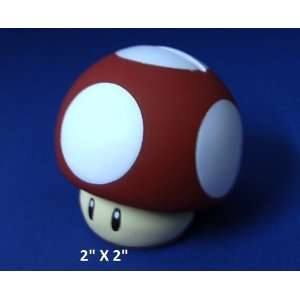 Super Mario Mini Coin Bank Figure RED Mushroom Toys & Games
