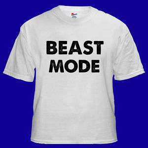 Beast Mode Funny Cool Hype Energy Cool T shirt S M L XL