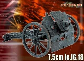 Dragon Cyber Hobby 1/6 WWII German 7.5cm le.IG.18 Gun