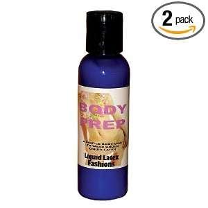 Liquid Latex Fashions Body Prep, 1 Bottles (Pack of 2)