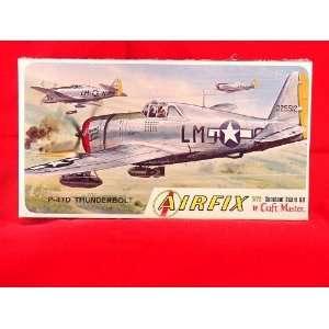 Airfix P 47D Thunderbolt 1/72 Scale Model Kit MIB #1210 Toys & Games
