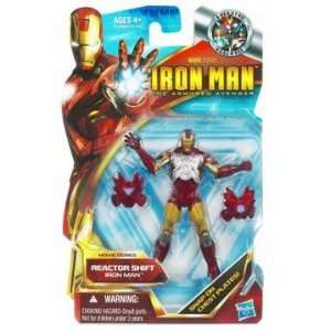Iron Man 2 Movie 4 Inch Action Figure Reactor Shift Iron Man Mark IV
