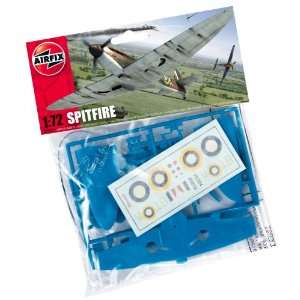 72 Scale Spitfire Mk1a Military Aircraft Classic Kit Series 1 Toys