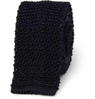 Ralph Lauren Black Label Slim Knitted Silk Tie  MR PORTER