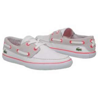Womens Lacoste Karen CV USA White/Light Grey Shoes