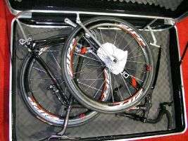 Notice the added padding around the freewheel as a precaution, which