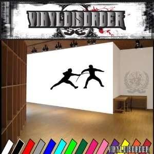 Fencing NS003 Vinyl Decal Wall Art Sticker Mural