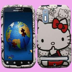Case for Motorola PHOTON 4G Sprint Hello Kitty Cover Skin I Faceplate