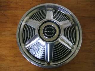 Vintage 1965 Original Ford Mustang 14 Chrome Hubcap