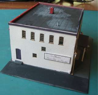 Vintage HO Scale Funeral Home and Western Union Building