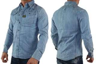 8239) G Star Raw Herren Arizona Rhine Jeans Hemd Neu