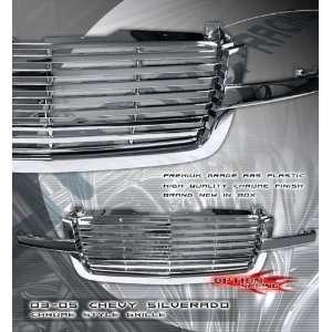 Chevy Silverado Chrome Grille Grille Grill 2003 2004 2005 03