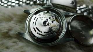 LADIES ROLEX OYSTER DATE REF.6517 BLUE DIAL 18K WG BEZEL / SS 1965 N.R