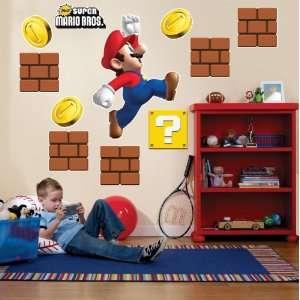 Party Destination Super Mario Bros. Giant Wall Decals