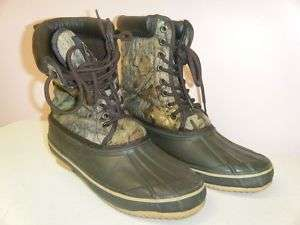 GAME WINNER All Weather Hunting Boots Size 8 Mens Used