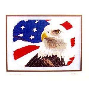 Standing Proud   Cross Stitch Pattern: Arts, Crafts