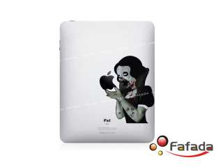 Aufkleber Sticker Decal Skin für Macbook ipad Zombie Snow White
