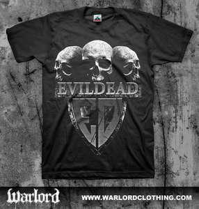 EVIL DEAD Skulls T shirt (Municipal Waste Coroner Kreator Thrash