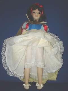 Porcelain SNOW WHITE Doll Artist Jerri McCloud 1983