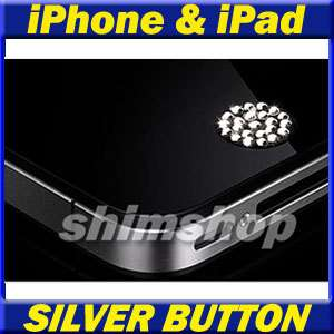 APPLE IPHONE IPAD 1 2 3 4 5 6 3G SWAROVSKI HOME BUTTON CASE COVER SKIN