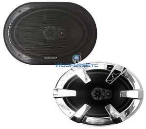 6x9 3 WAY FULL RANGE COAXIAL SPEAKERS MIDS TWEETERS LOUD SOUND