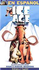 Ice Age VHS, 2002, Spanish Dubbed