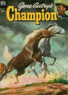 GENE AUTRYS CHAMPION #11 Good, Dell Western Comics 1953