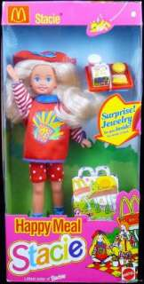 MCDONALDS HAPPY MEAL STACIE DOLL #11474 NRFB MINT 1993