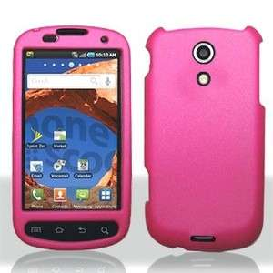 For Sprint Samsung Epic 4G Galaxy S Rubberized Hot Pink Hard Case