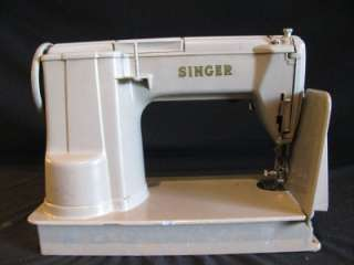 Vintage Singer 301A Longbed Sewing Machine with Case and Accessories