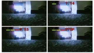 In Car Rear View Mirror LCD Monitor Parking Sensor + Reversing Camera