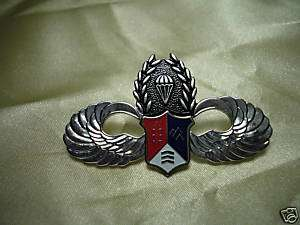ROC Taiwan Army Airborne Parachute wing pin #A