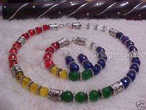 BRACELET EARRINGS SET chi reiki energy worker kung tai meditate