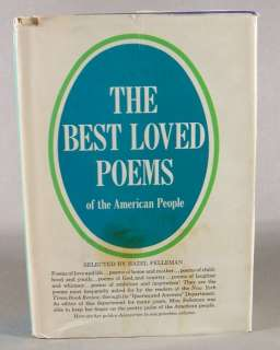 The Best Loved Poems Of The American People (1936)